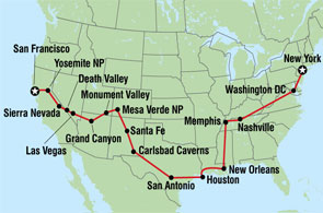 Road Trip America - Best maps for us road trips